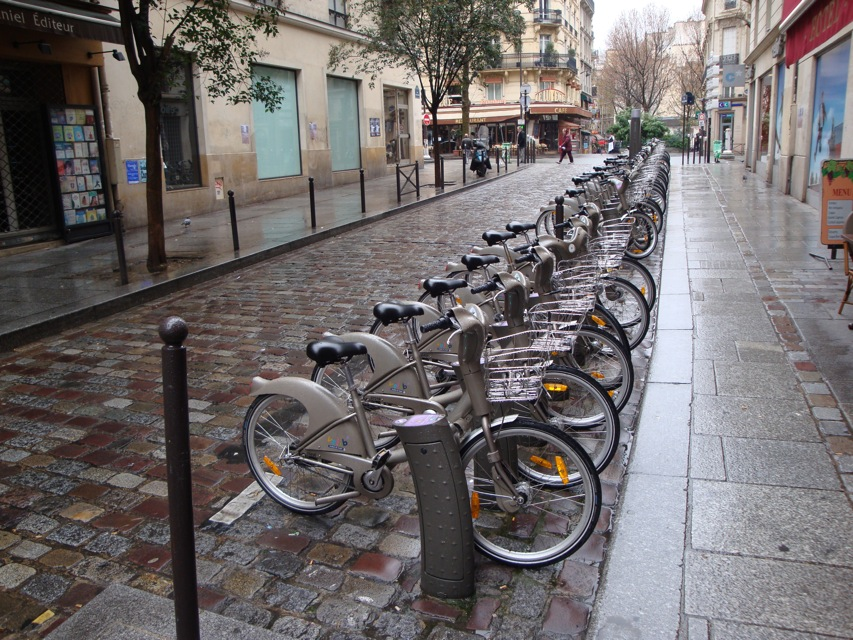Paris Bicycle rentals program