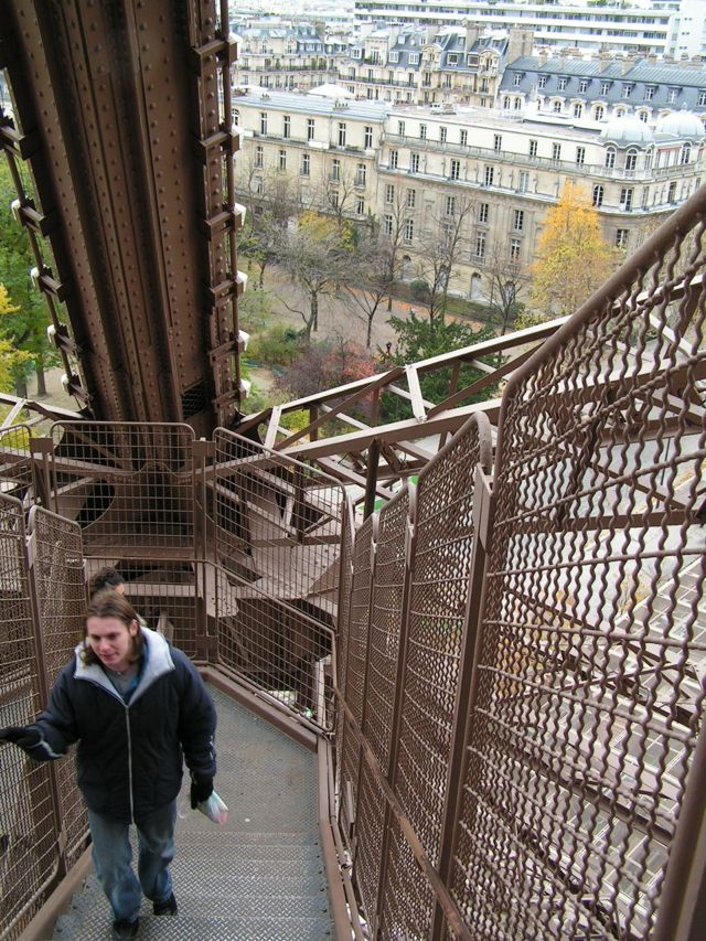 Top Of Eiffel Tower Stairs : Eiffel tower