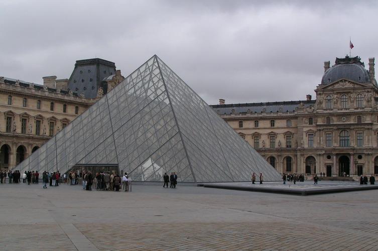 The louvre museum paris france - Construction of the louvre ...