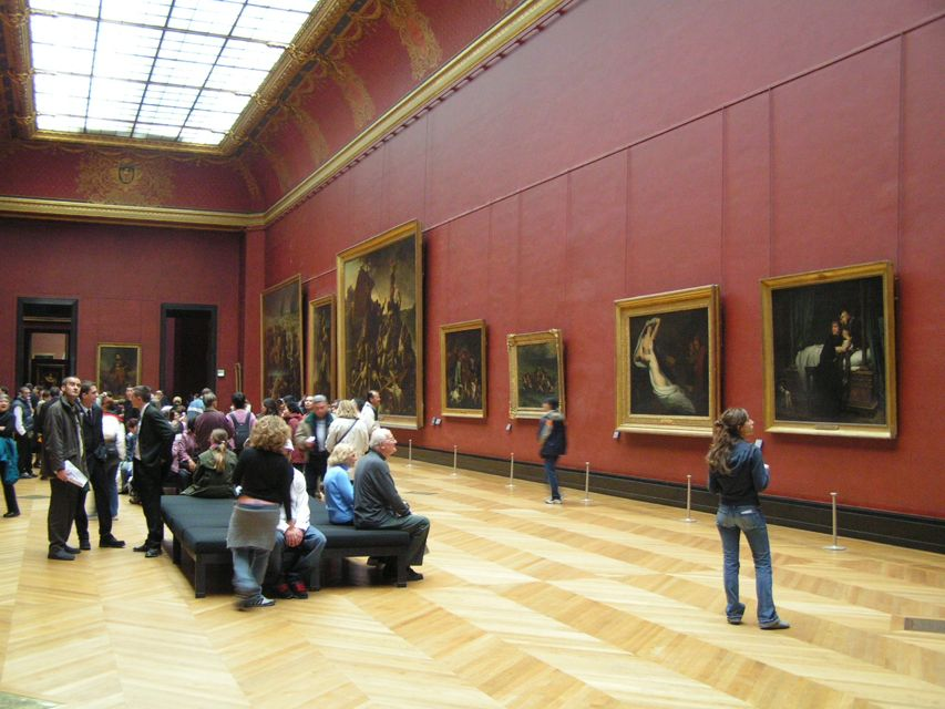 Have put together this little tour of the louvre to inspire those
