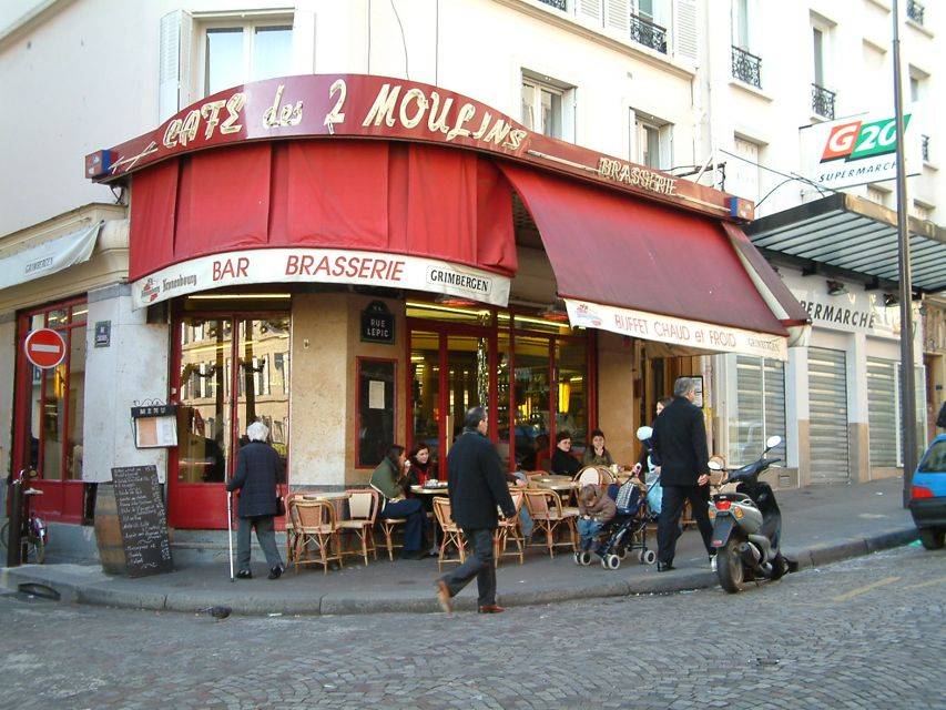Le Deux Moulins Amelias Cafe Paris