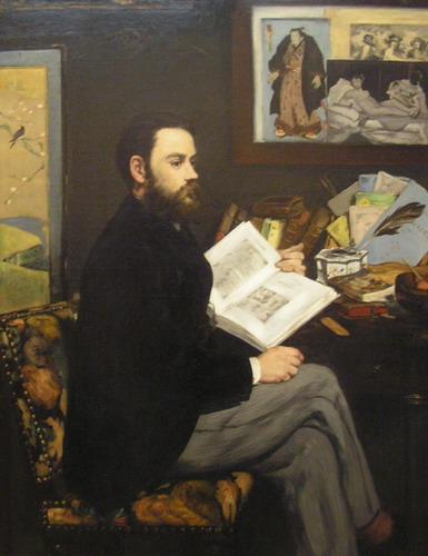 Edouard manet self-portrait