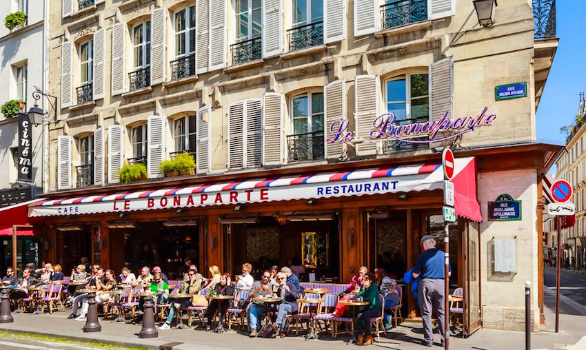 Cafe Bonaparte, Paris
