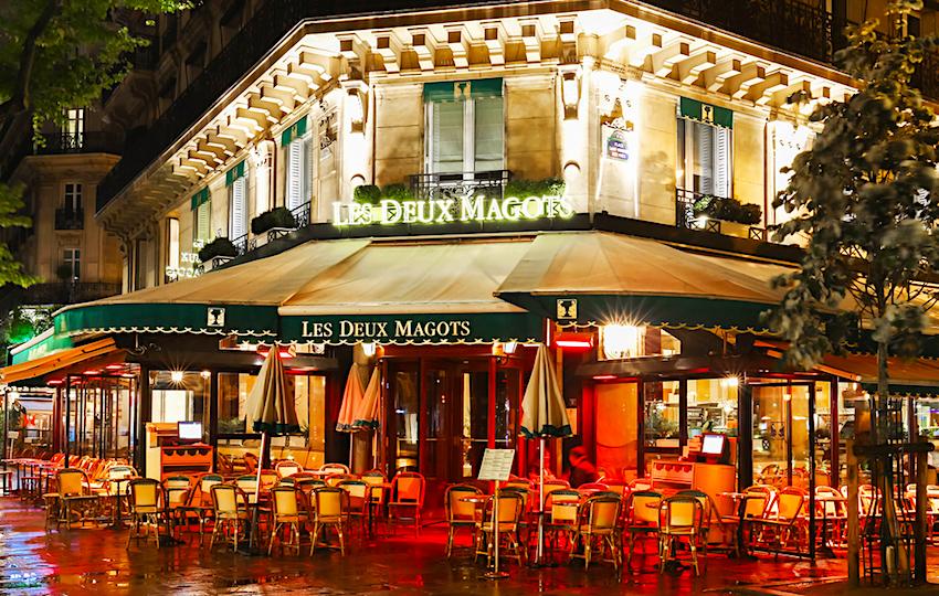 Cafe Deux Magots, Paris